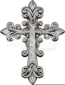 Ornate Crosses Clipart.