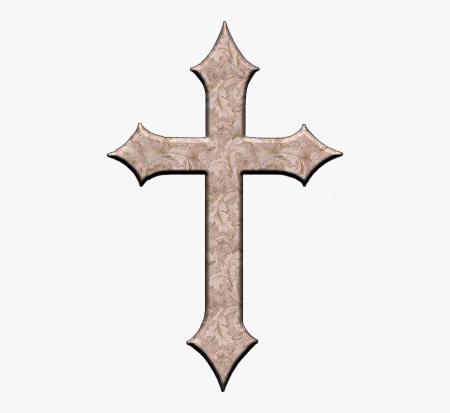Ornate Cross Png For Kids.