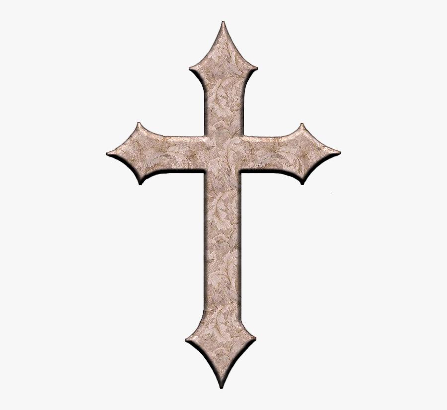 Ornate Cross Png For Kids.