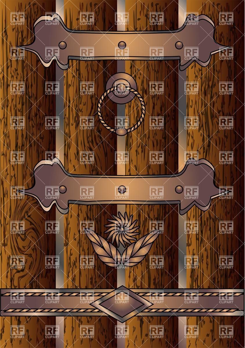 Ornate door knobs.