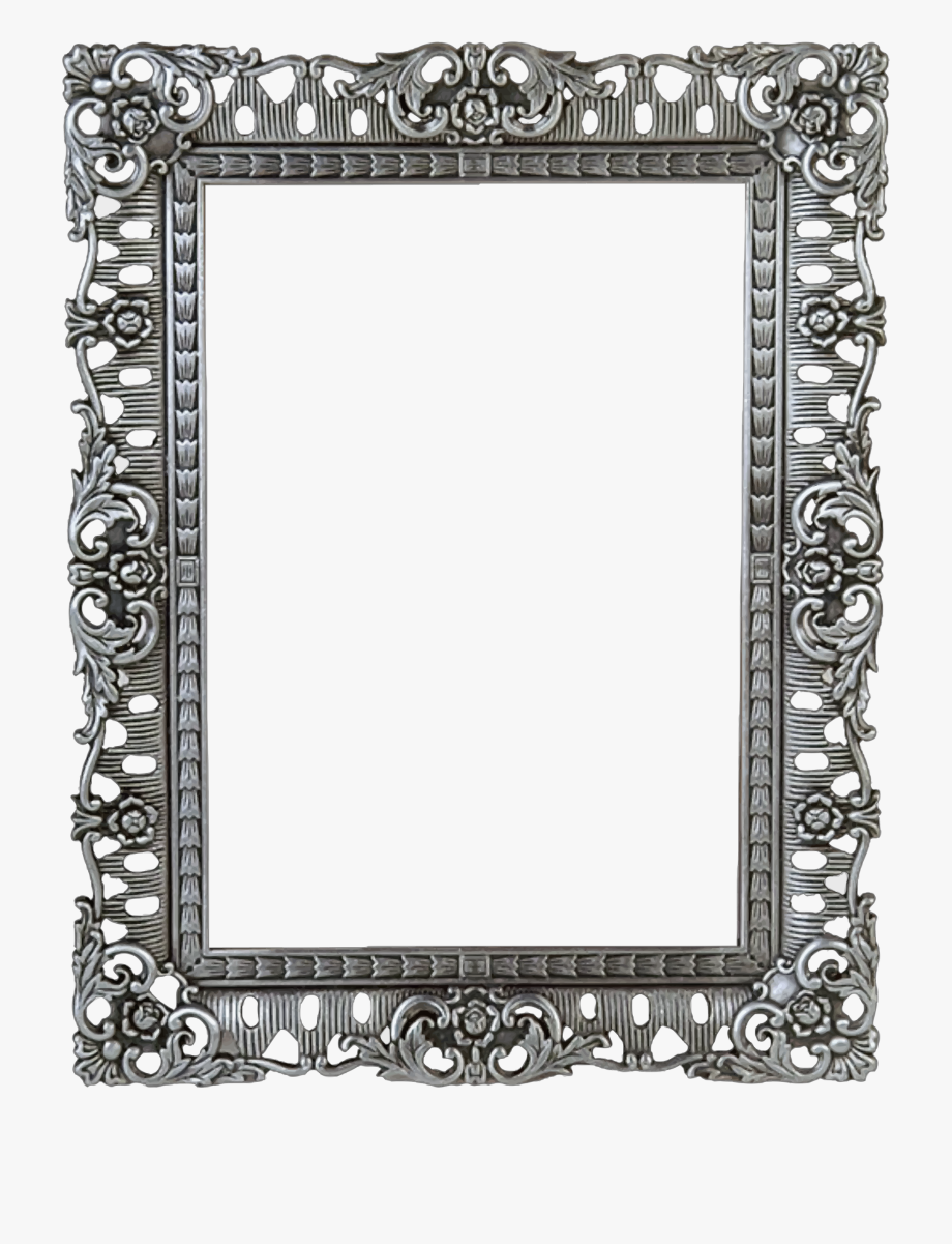 Ornate Picture Frame Png.