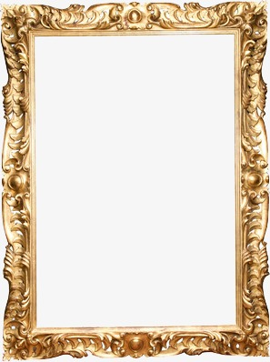 European Gorgeous Vintage Photo Frames, Continental Frame.