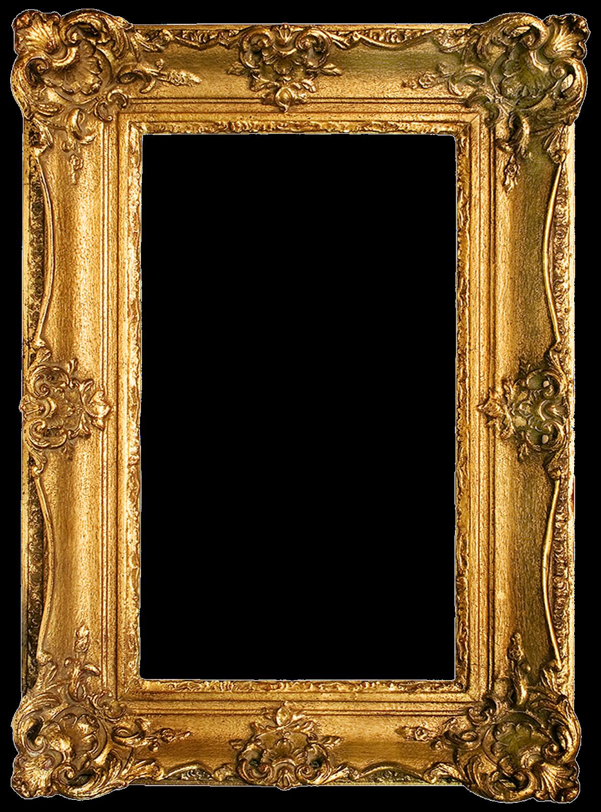 Vintage Gold Gilded Frames Free Printables!.