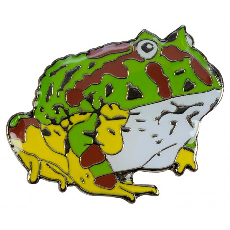 Ornate horned frog clipart #2