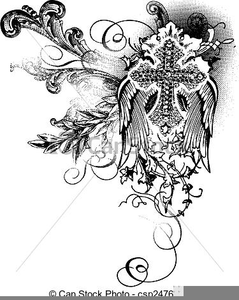 Ornate Scroll Clipart.