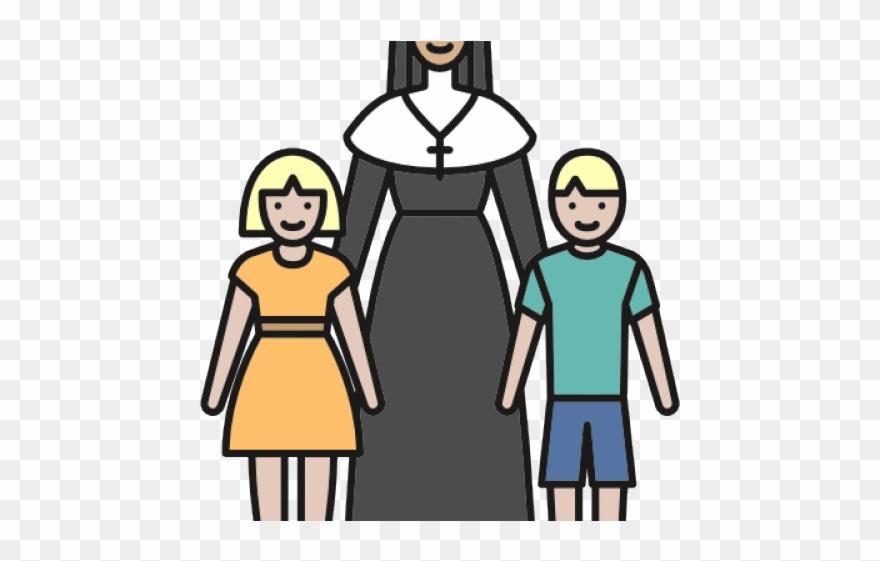 Christian Clipart Nun.