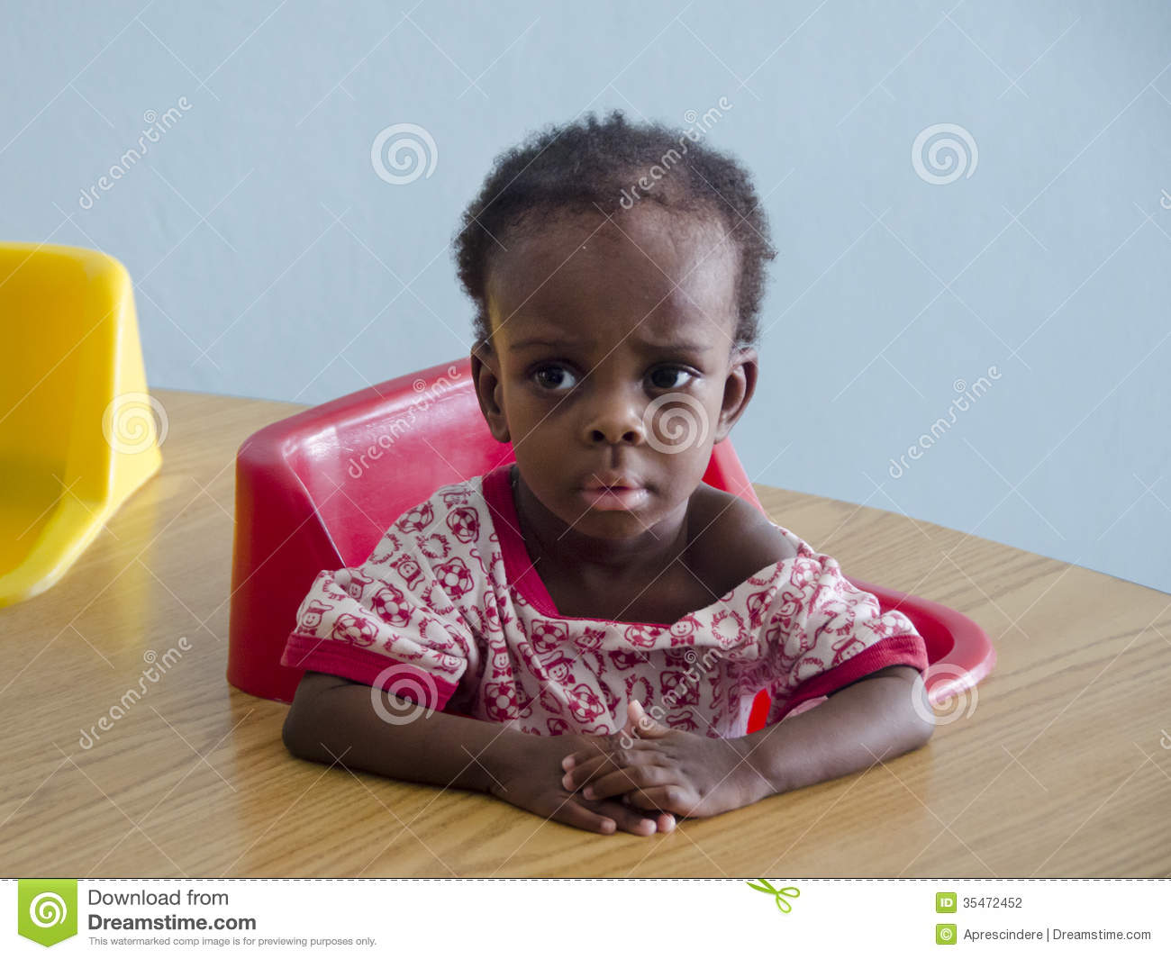 Orphan Girl Suffers Effects Drought,famine & Poverty Uganda,Africa.