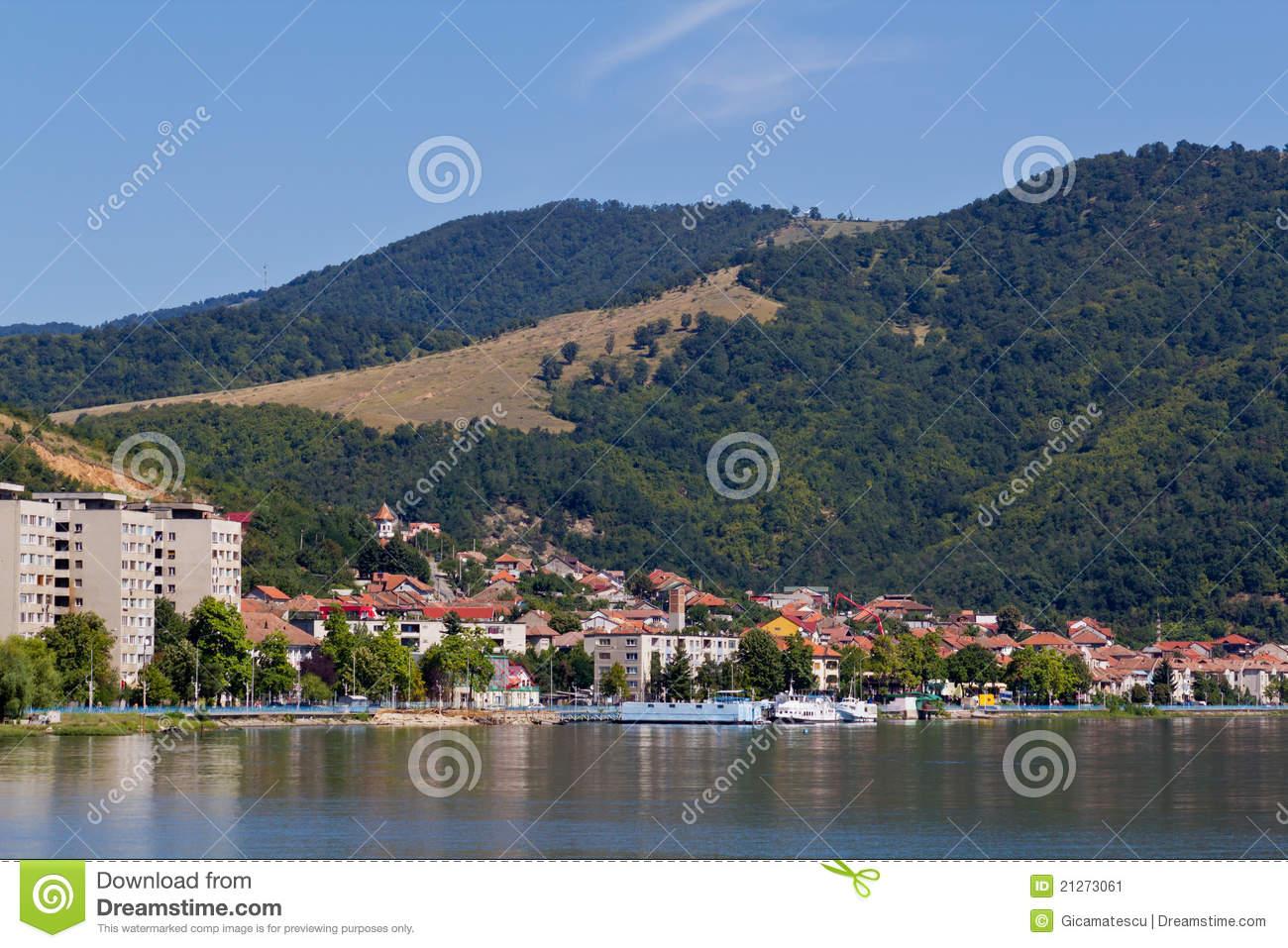 Orsova City I Stock Image.