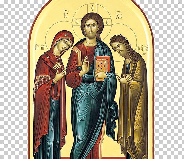 Religion Eastern Orthodox Church Deesis Theotokos Icon, God.