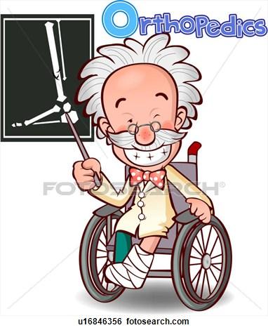 Orthopedic Doctor Clipart.