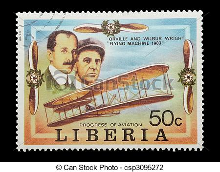 Stock Photo of wright brothers.