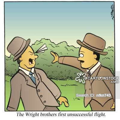 Orville Wright Cartoons and Comics.