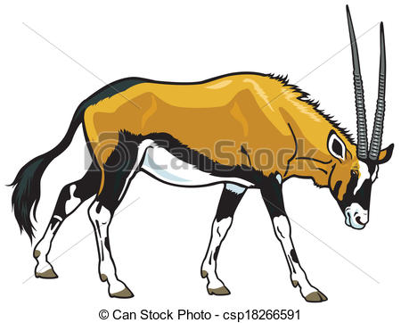 Oryx Illustrations and Clipart. 54 Oryx royalty free illustrations.