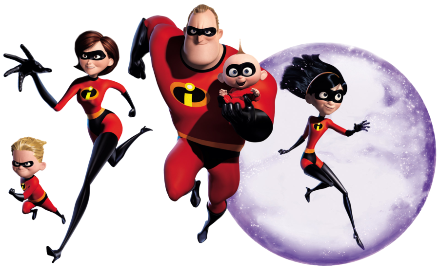PNG Os Incríveis (The Incredibles).