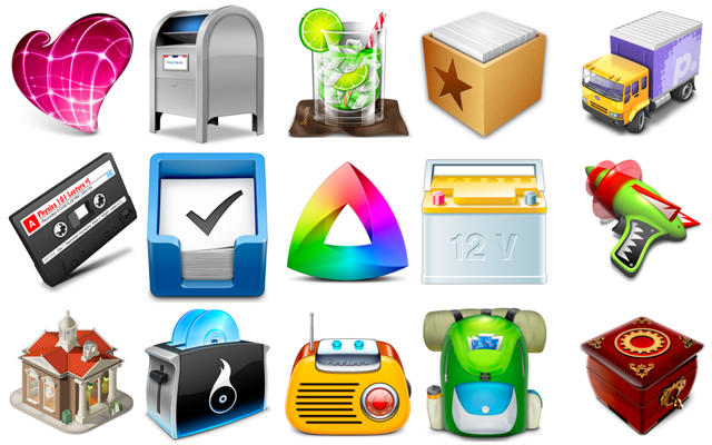 15 Of Our Favorite Mac OS X App Icons In 2010 [Year in.