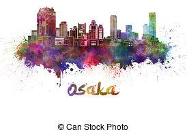 Osaka skyline Illustrations and Stock Art. 12 Osaka skyline.
