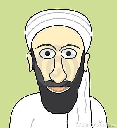 Osama bin laden clipart.