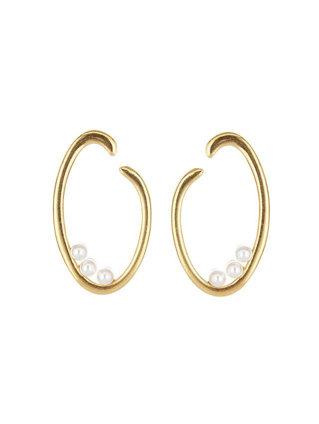 O Logo Earrings.