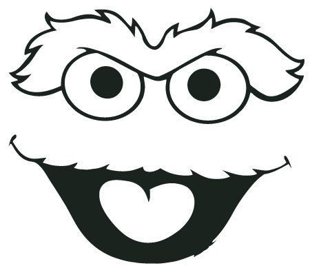 Oscar The Grouch Clipart Free Download Clip Art.