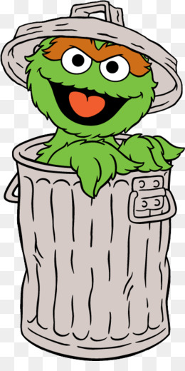 Oscar The Grouch PNG.