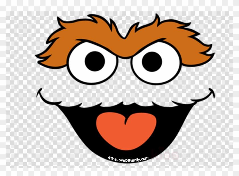 Oscar Face Sesame Street Clipart Oscar The Grouch Elmo.