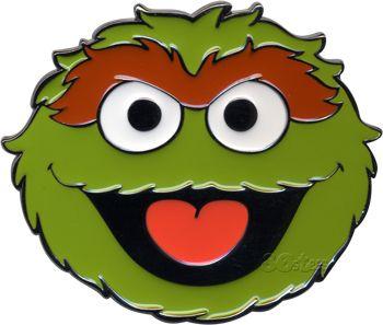 Oscar the grouch face template.