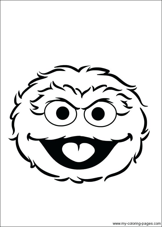 Oscar The Grouch Coloring Page at GetDrawings.com.