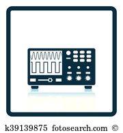 Oscilloscope Clip Art Royalty Free. 311 oscilloscope clipart.