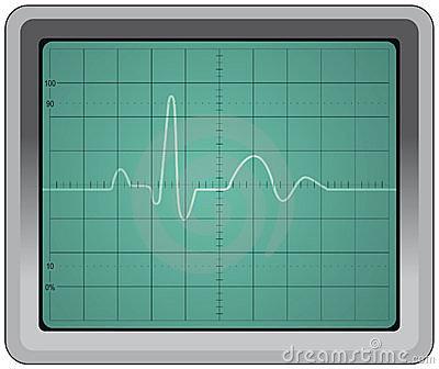 Oscilloscope Stock Images.