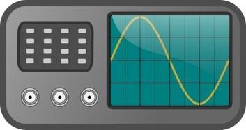 Signal generator clipart.