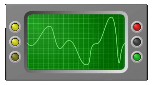 Oscilloscope Clipart.