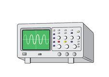 Oscilloscopes Stock Illustrations.