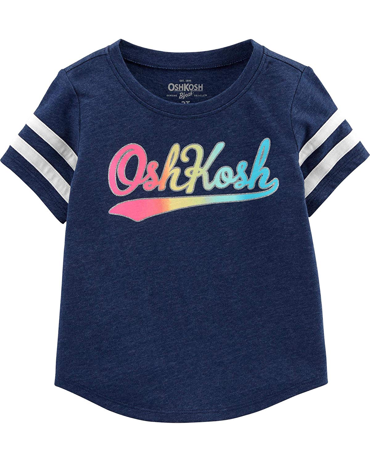 Amazon.com: OshKosh B\'Gosh Baby Girls\' Toddler Logo T.