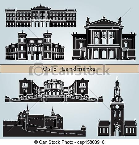 Oslo Clipart and Stock Illustrations. 946 Oslo vector EPS.