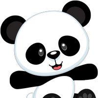 Panda Cute Clipart.