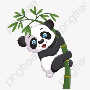 Panda Clipart Bamboo.