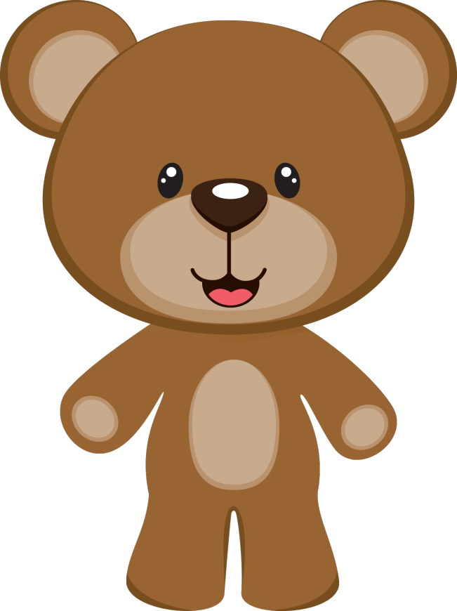 Oso Caricatura Png Vector, Clipart, PSD.