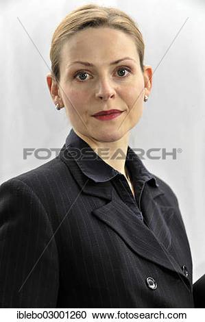 """Stock Photography of """"Young businesswoman, Schwabisch Gmund."""