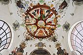 "Stock Photo of ""Altar, Hospital Church of the Holy Spirit, Fussen."