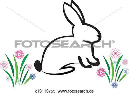 Osterhase Clip Art EPS Bilder. 16.243 osterhase Clip Art Vektor.