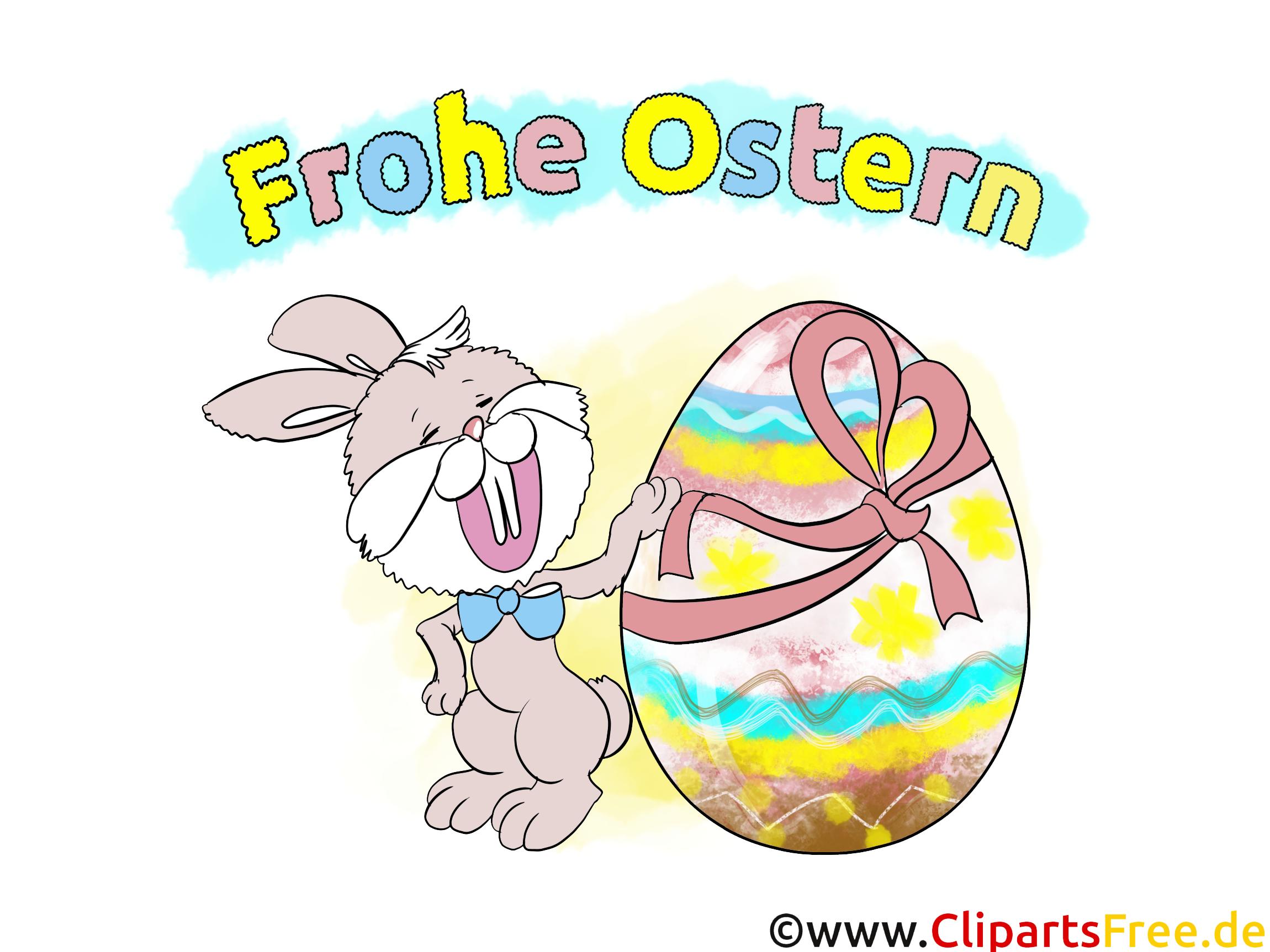 Osterhase Bild.