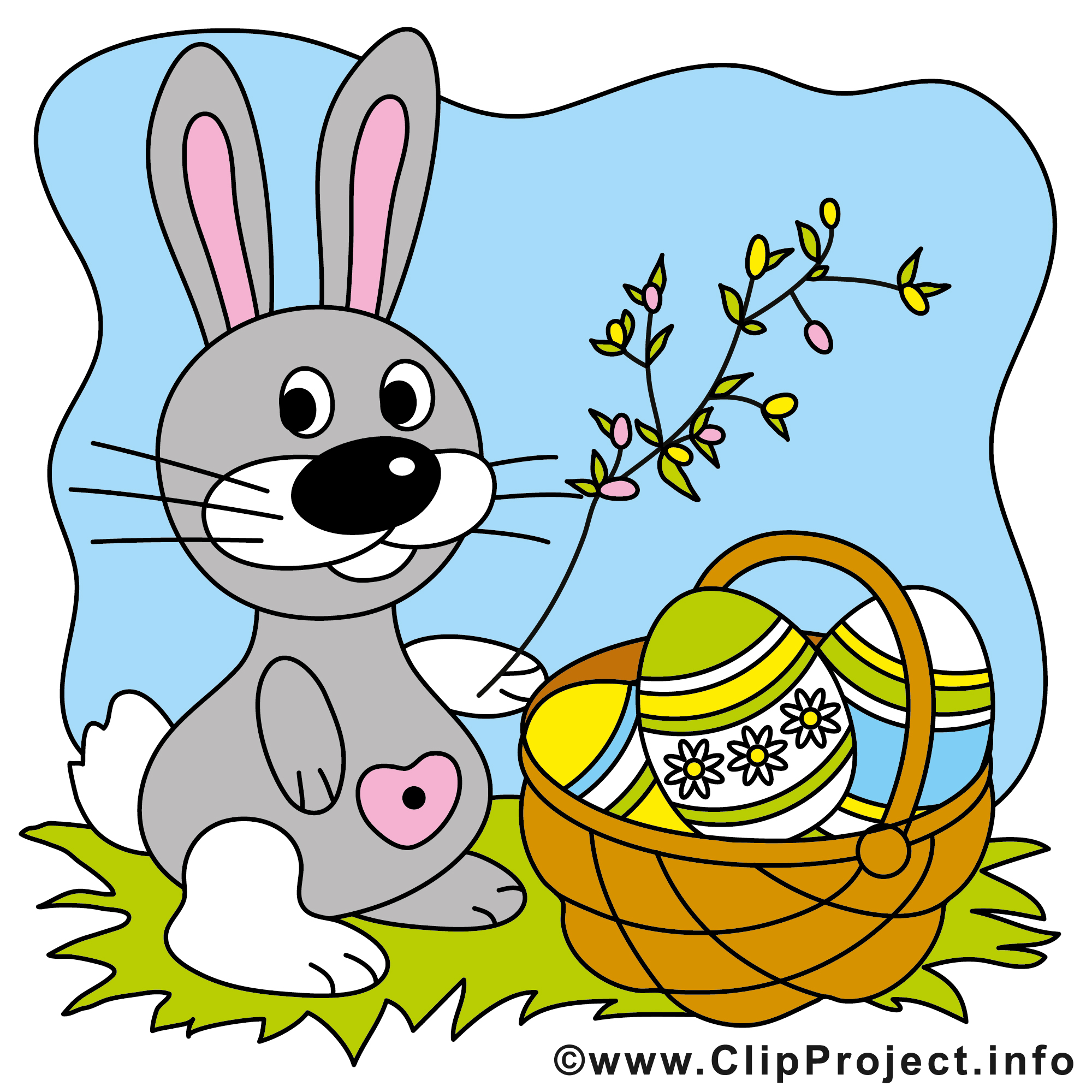 Osterhase Clipart.