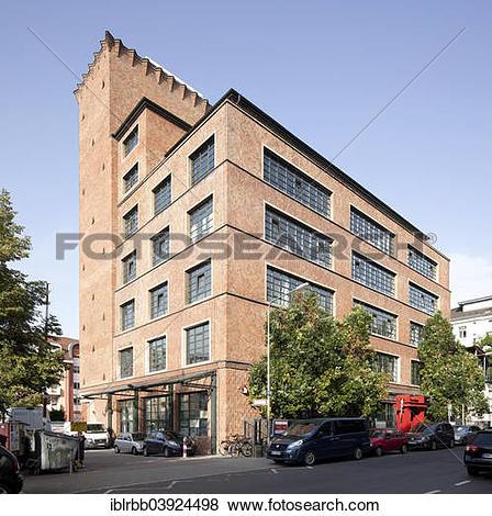 "Pictures of ""Kunstlerhaus Mousonturm, former soap and perfume."