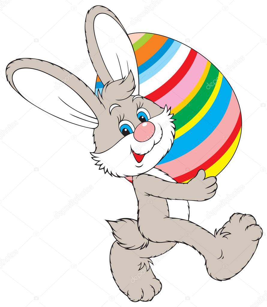 Osterhase clipart 7 » Clipart Station.