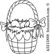 Osterkorb Clipart Illustrationen. 5.999 osterkorb Clip Art Vektor.