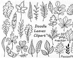 SISTEMA GRANDE! 44 gráfico mano dibujado flores, elemento de flor.