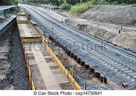 Stock Foto von Fortschritt, eisenbahn, arbeit.