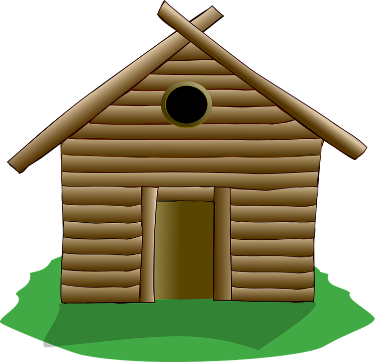 Log, House.