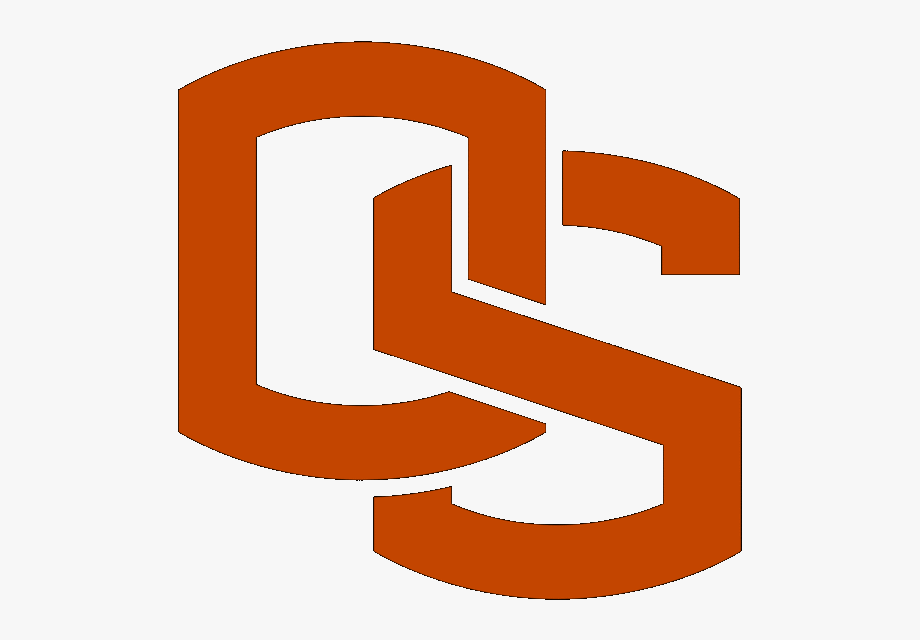 Oregon State Logo Os , Transparent Cartoon, Free Cliparts.