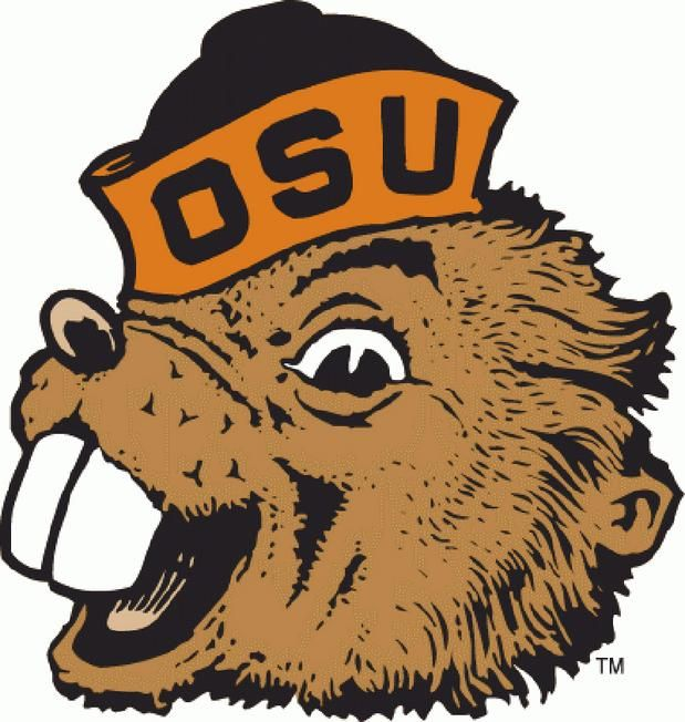 the old logo of oregon state.